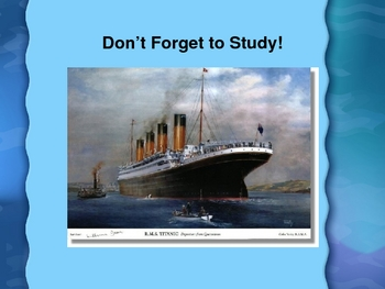 Houghton Mifflin Vocabulary PPT Finding the Titanic