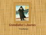 Houghton Mifflin Vocabulary PPT Grandfather's Journey