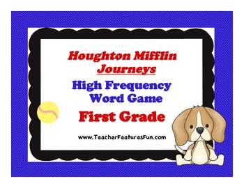 Houghton Mifflin	Journeys High Frequency Word Game (First Grade)