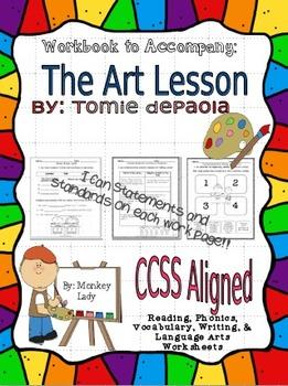 Houghton Mifflin's The Art Lesson Workbook