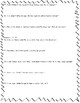 Hound Dog True (Linda Urban) Comprehension Questions