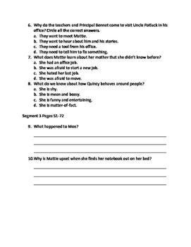Hound Dog True Quiz Packet