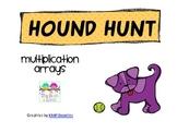 Hound Hunt Multiplication Arrays