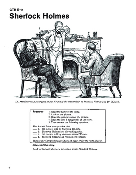 The Hound of the Baskervilles 10 Chapters with Student Activities and Answer Key