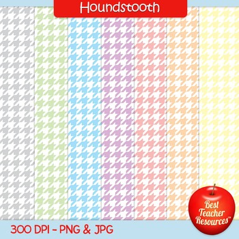 Houndstooth Backgrounds Clip Art