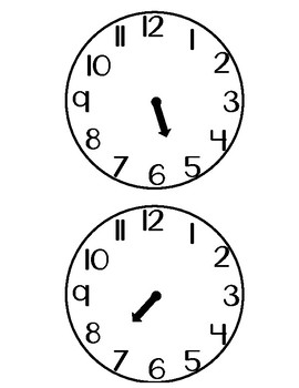 Hour Hand Cards