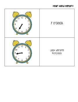 Hour Hand Memory