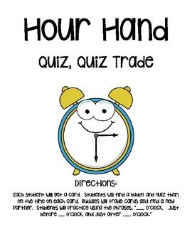 Hour Hand Quiz, Quiz, Trade