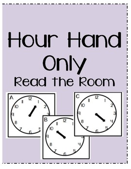 Hour Hand Only Read the Room