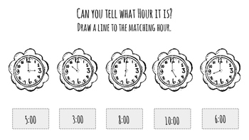Hour Hand Time