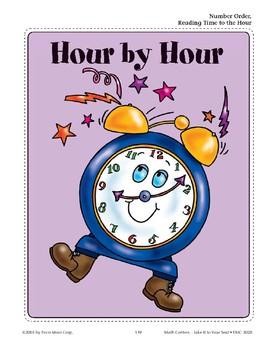 Hour by Hour (Number Order/Reading Time to the Hour)