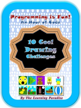 10 COOL Drawing Challenges for Students * Programming is Fun! *An Hour of Code