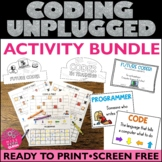 HOUR OF CODE Unplugged Coding Starter BUNDLE