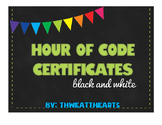 Hour of Code Certificates Freebie