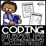 Hour of Code: Coding Puzzles Unplugged