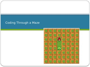 Hour of Code Maze PowerPoint