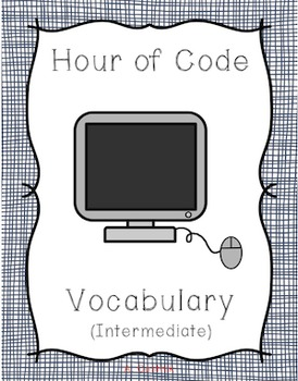 Hour of Code Prep for Intermediate Students - Vocabulary