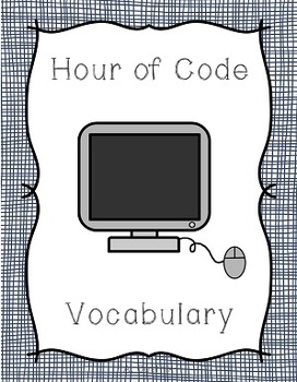 Hour of Code Prep for Primary Students - Vocabulary