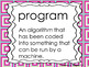 Hour of Code Vocabulary Bundle for Courses 1,2,3 & 4