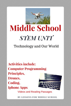 STEM, Coding, Technology – Middle School Materials