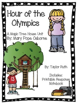 Hour of the Olympics: A Magic Tree House Unit (26 Pages)