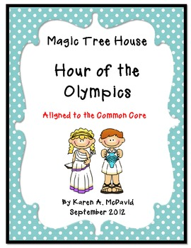 Hour of the Olympics Common Core Literature Unit