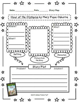 Hour of the Olympics Literature Guide (Common Core Aligned)