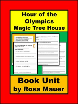 Hour of the Olympics Magic Tree House 16
