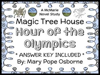 Hour of the Olympics: Magic Tree House #16 Novel Study / R