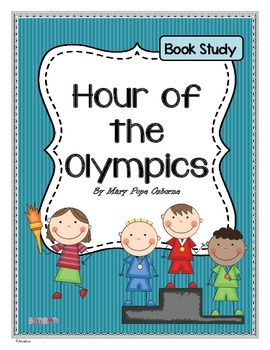 Hour of the Olympics - MTH Common Core book study