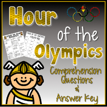 Hour of the Olympics (Magic Tree House) Comprehension Questions