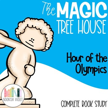Hour of the Olympics Magic Tree House Comprehension Unit