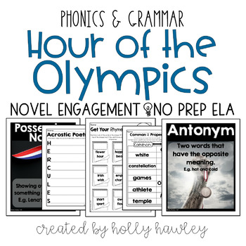 Hour of the Olympics NO PREP (ELA)
