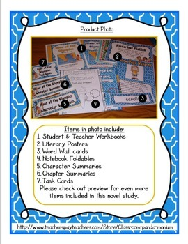 Hour of the Olympics Novel Study with FREE Task Cards (CC Aligned)