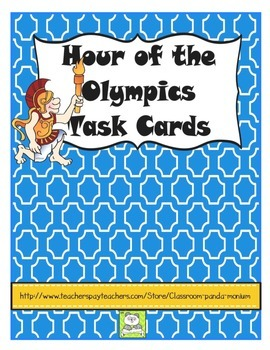 Hour of the Olympics Task Cards (CC Aligned)