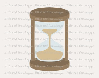 Hourglass Clipart; Hour Glass, Timer, Vintage
