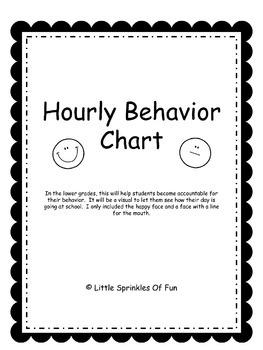 Hourly Behavior Chart