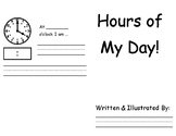 Hours of My Day Book TEKS1.7E