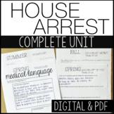 House Arrest KA Holt | COMPLETE UNIT - distance learning