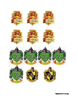 House Badges for Sorting
