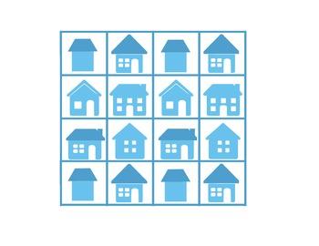 House Vocabulary Bingo