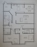 House Blueprint Project (Area and Scale Factor)