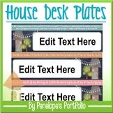 Desk Plates / Name Plates - Character Education & Chalkboa