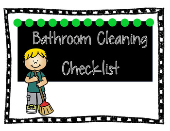 House Cleaning Checklists for Kids