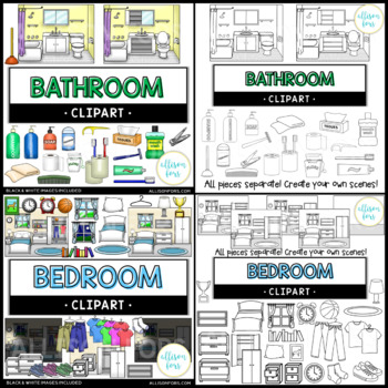 House Clip Art Bundle