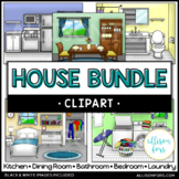 House Clip Art Bundle