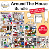 Around The House Clip Art Bundle