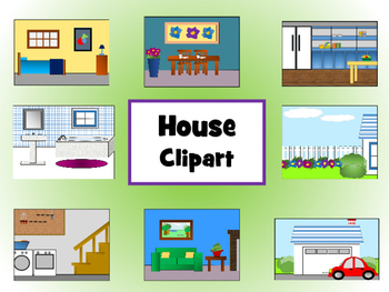 House Clipart By Meg Coursey Teachers Pay Teachers
