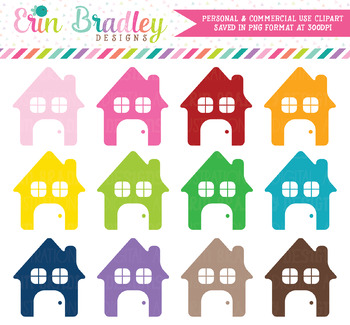 House Clipart Set