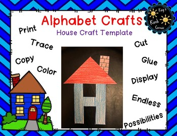 House Craft Letter H